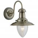 Arte Lamp A5518AP-1AB Бра  FISHERMAN 1x60W E27 античная бронза