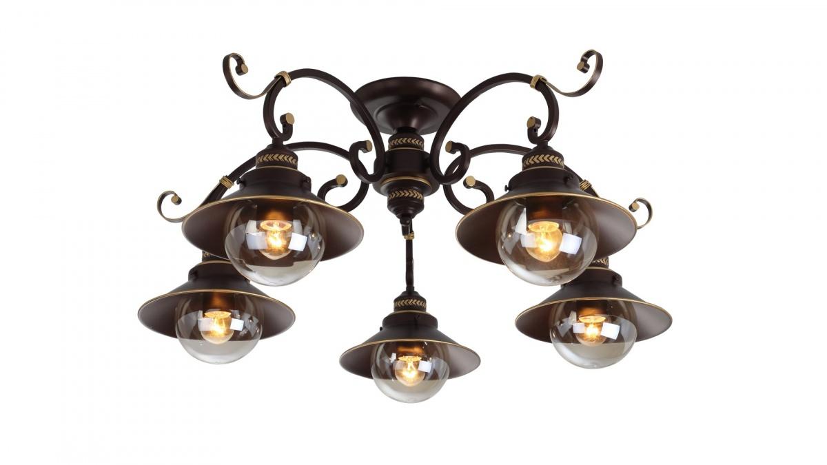A4577PL-5CK Люстра потолочная GRAZIOSO 5x60W, 5xE27 Arte Lamp
