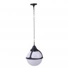 Arte Lamp A1495SO-1BK уличный подвесной светильник  MONAKO 1x100W E27 черный IP44