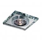 NOVOTECH 369435 Встраиваемый светильник неповоротный MIRROR 1x50W GX5.3 хром  IP20