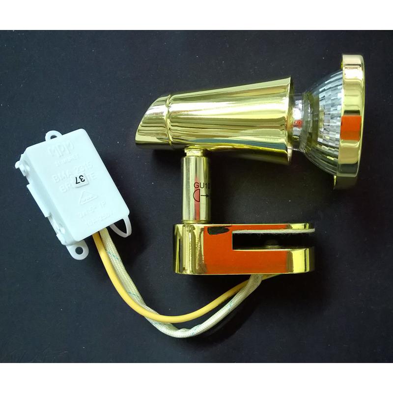 Eglo 85826 Светильник для зеркала STICER 1x50W GU10 золото