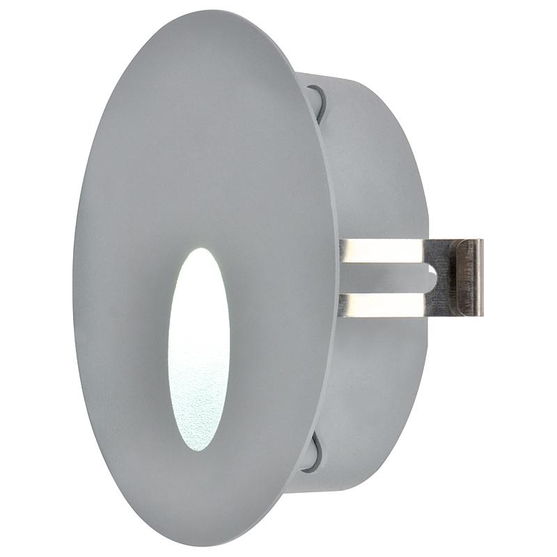 Arte Lamp A7120IN-1GY встраиваемый светильник неповоротный INSTALL 1x3W  серый IP54