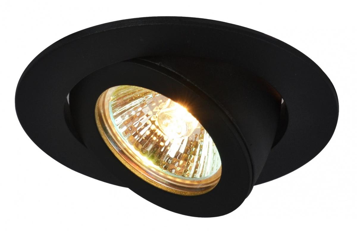 A4009PL-1BK Встраиваемый светильник ACCENTO 1x50W, 1xGU10; 1xG5,3 Arte Lamp