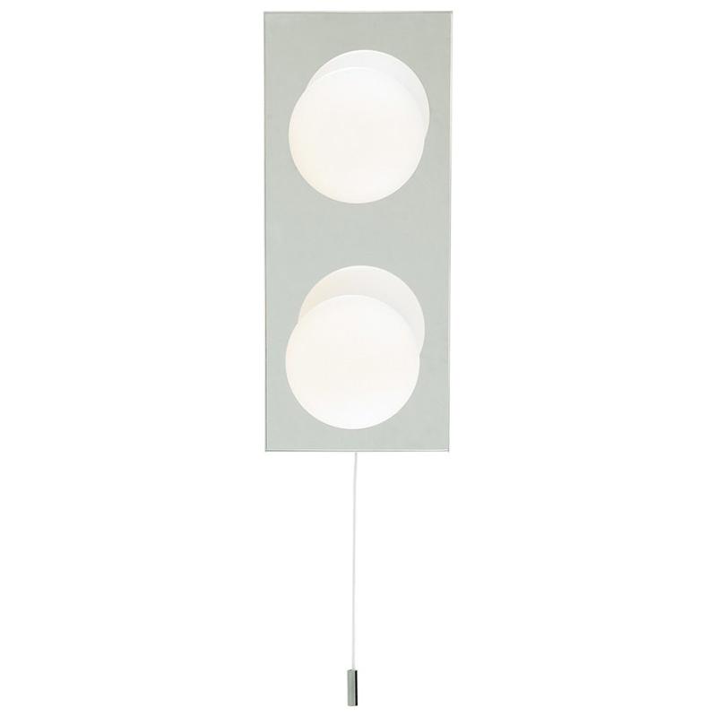 Arte Lamp A4444AP-2CC Светильник для зеркала  AQUA 2x40W G9 хром IP44