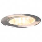 Arte Lamp A6013IN-1SS встраиваемый светильник тротуарный PIAZZA 1x100W E27 матовое серебро IP54