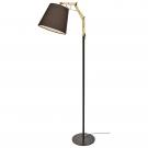 Arte Lamp A5700PN-1BK Торшер PINOCCIO 1x60W Е27 черный / черный