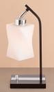 CITILUX CL126811 Настольная лампа БЕРТА 1x75W E27 венге/хром
