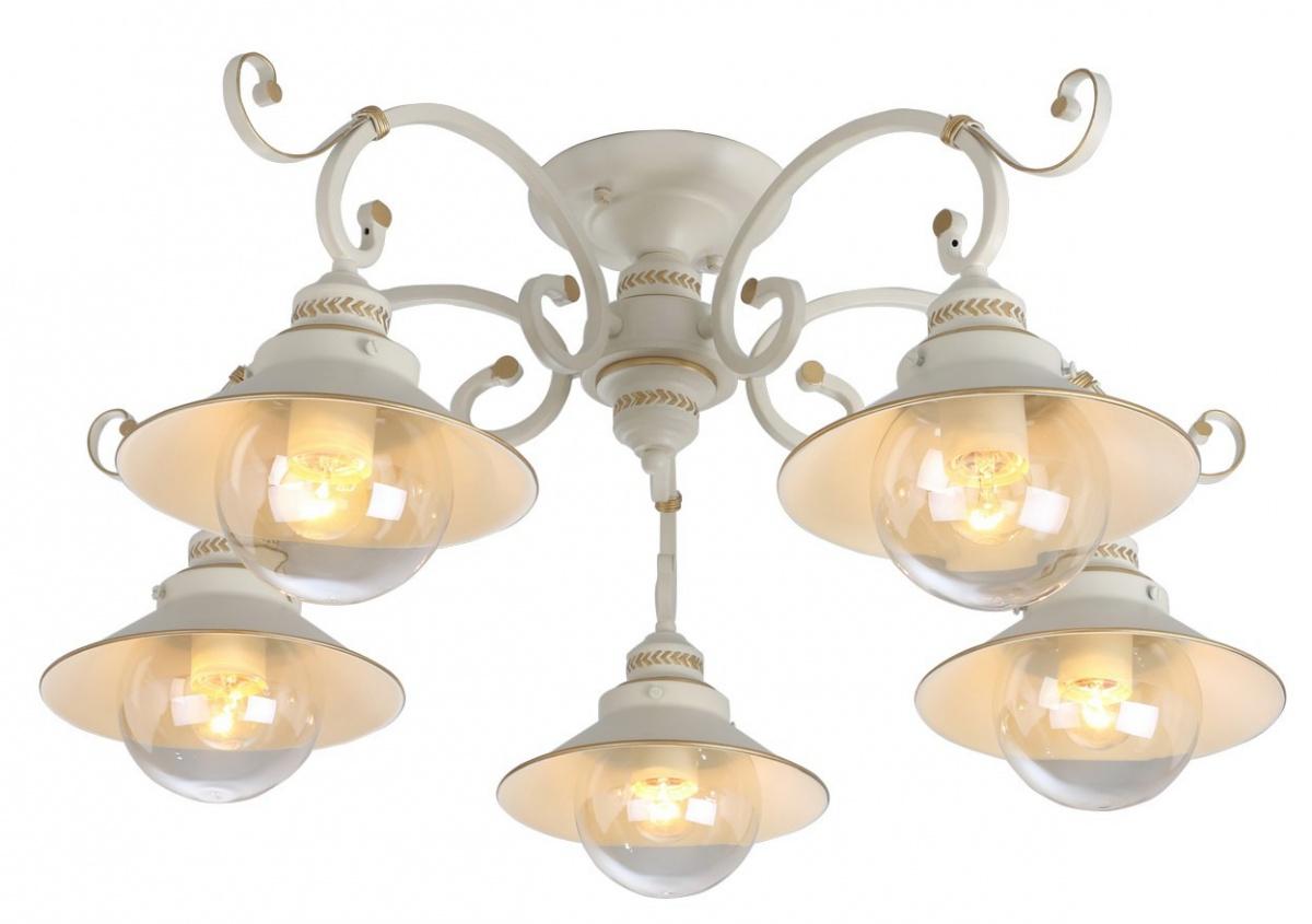 A4577PL-5WG Люстра потолочная GRAZIOSO 5x60W, 5xE27 Arte Lamp