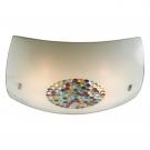 CITILUX CL934031 Потолочный светильник КОНФЕТТИ 4x100W E27 хром/цветной