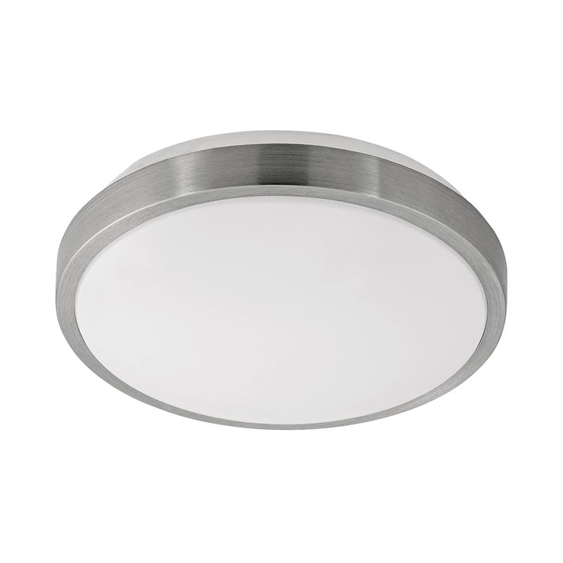 EGLO 96032 Светодиод. наст.-потол. светильник COMPETA 1, 22W(LED), ?245, сталь, белый/пластик, белый, никель мат.