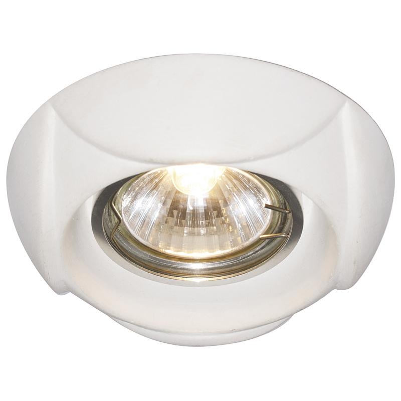 Arte Lamp A5241PL-1WH Встраиваемый светильник неповоротный CRATERE 1x50W GU10 / G5,3 белый