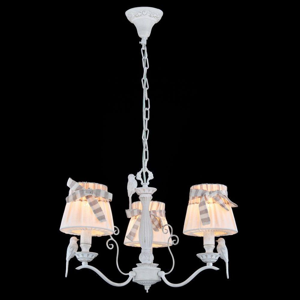 MAYTONI ARM013-03-W Люстра BIRD 3 x E14 40W Белый