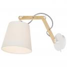 Arte Lamp A5700AP-1WH Бра PINOCCIO 1x40W Е14 белый / белый