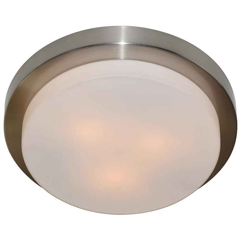 Arte Lamp A8510PL-3SS Настенно-потолочный светильник  AQUA 3x40W E14 матовое серебро IP44