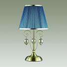 ODEON LIGHT 3921/1T ODL18 359 бронза/ткань/стекло Настольная лампа IP20 E14 40W 220V NIAGARA