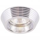 Arte Lamp A1058PL-1CC Встраиваемый светильник неповоротный CROMO 1x50W GU10 / G5,3 хром
