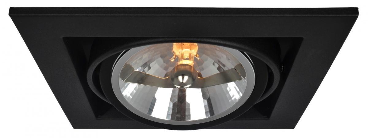 A5935PL-1BK Встраиваемый светильник CARDANI 1x50W, 1xG5,3 Arte Lamp