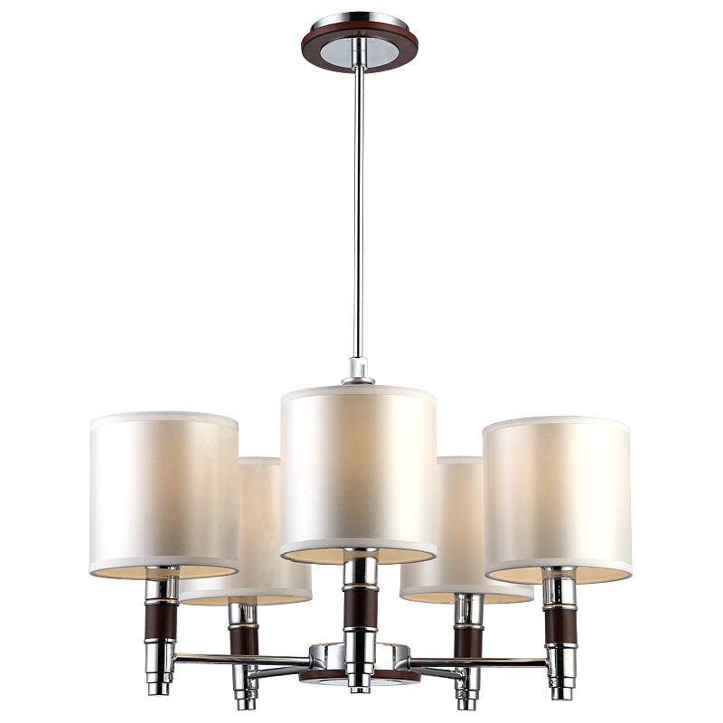 Arte Lamp A9519LM-5BR Люстра  CIRCOLO 5x40W E14 хром