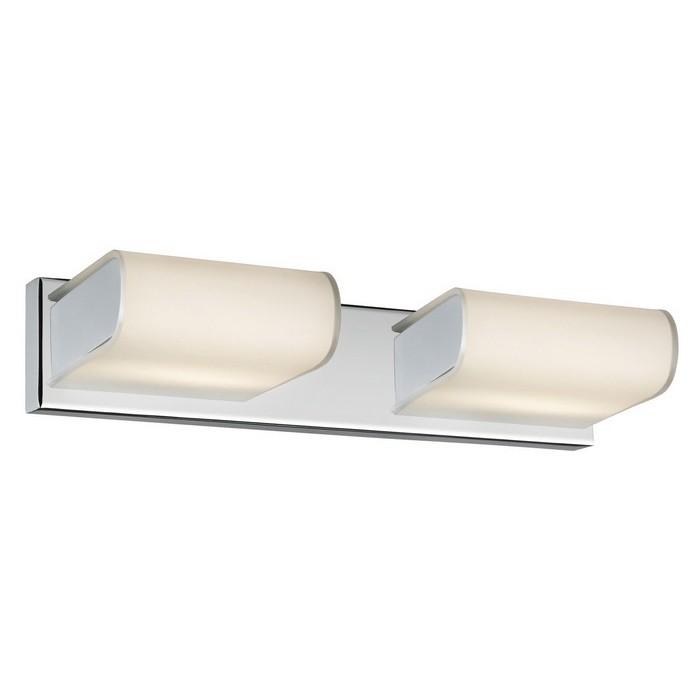 Arte Lamp A8856AP-2CC Светильник для зеркала LIBRI 2x28W G9 хром / белый