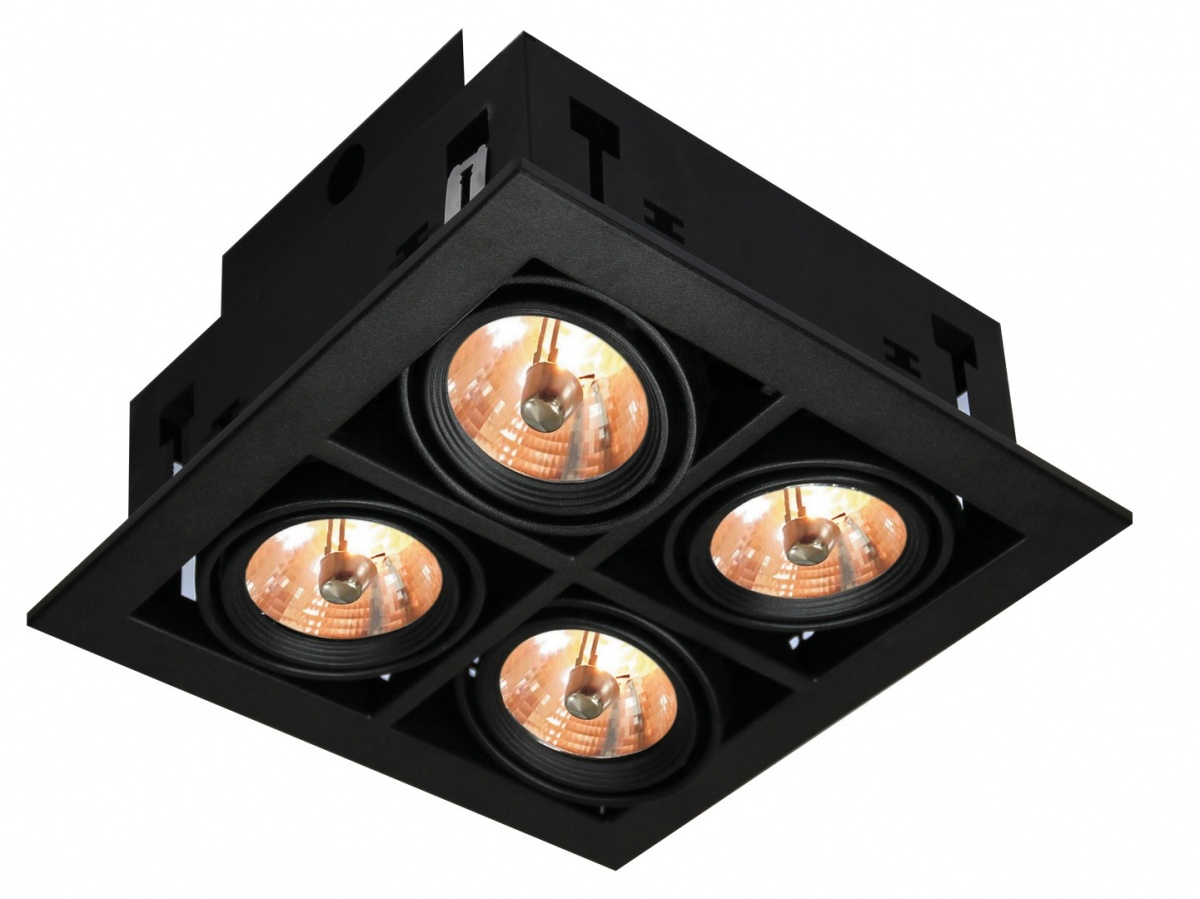 A5930PL-4BK Встраиваемый светильник CARDANI 4x50W, 4xG5,3 Arte Lamp