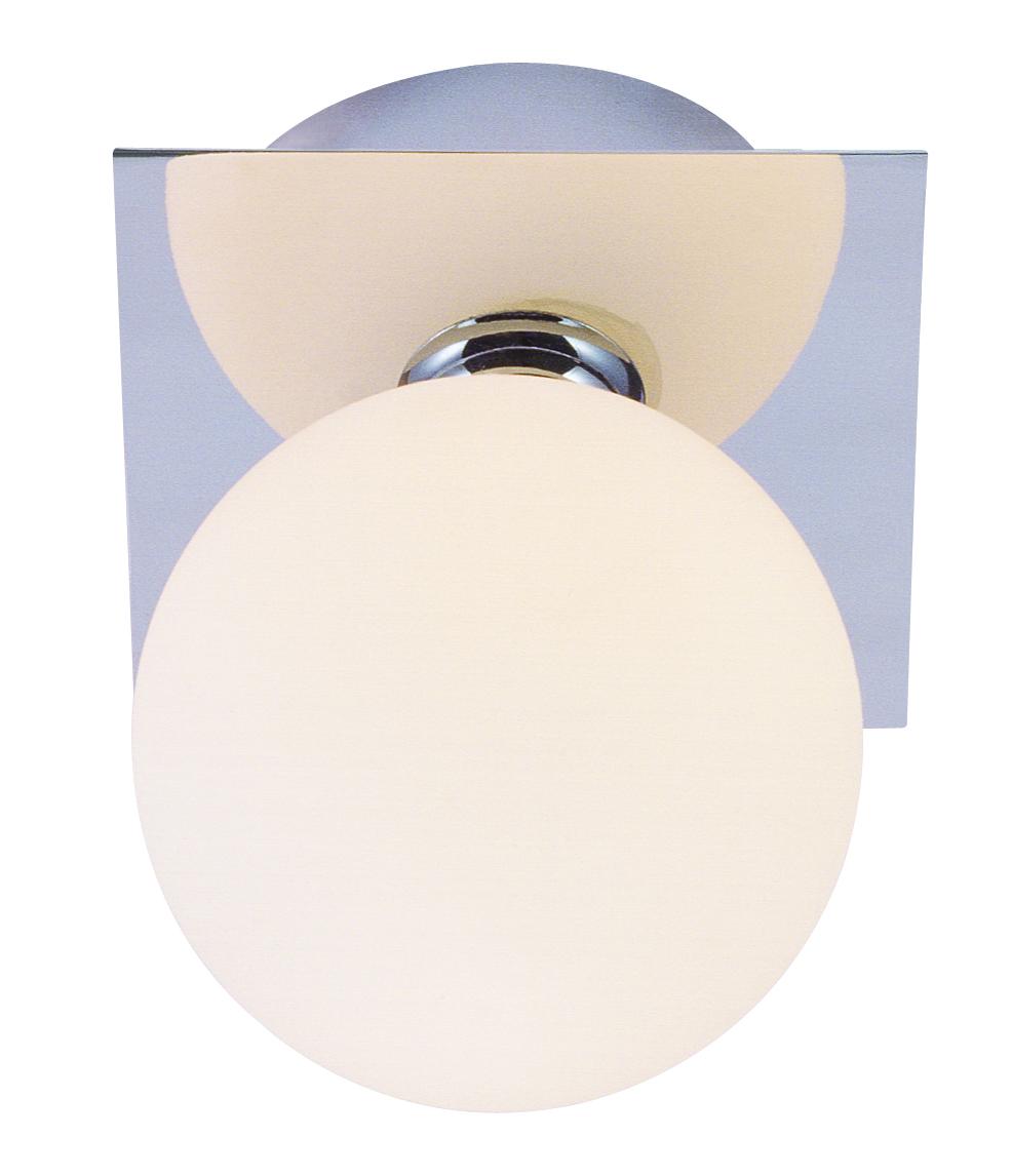 Globo 5663-1 Подсветка CARDIFF 1x33W G9 хром IP44