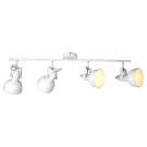 Arte Lamp A5215PL-4WG Подсветка  MARTIN 4x40W E14 бело-золотой