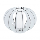 EGLO 95611 Наст. лампа STELLATO 2, 1х60W(E27), L285, H250, сталь, белый/дерево, стекло, белый