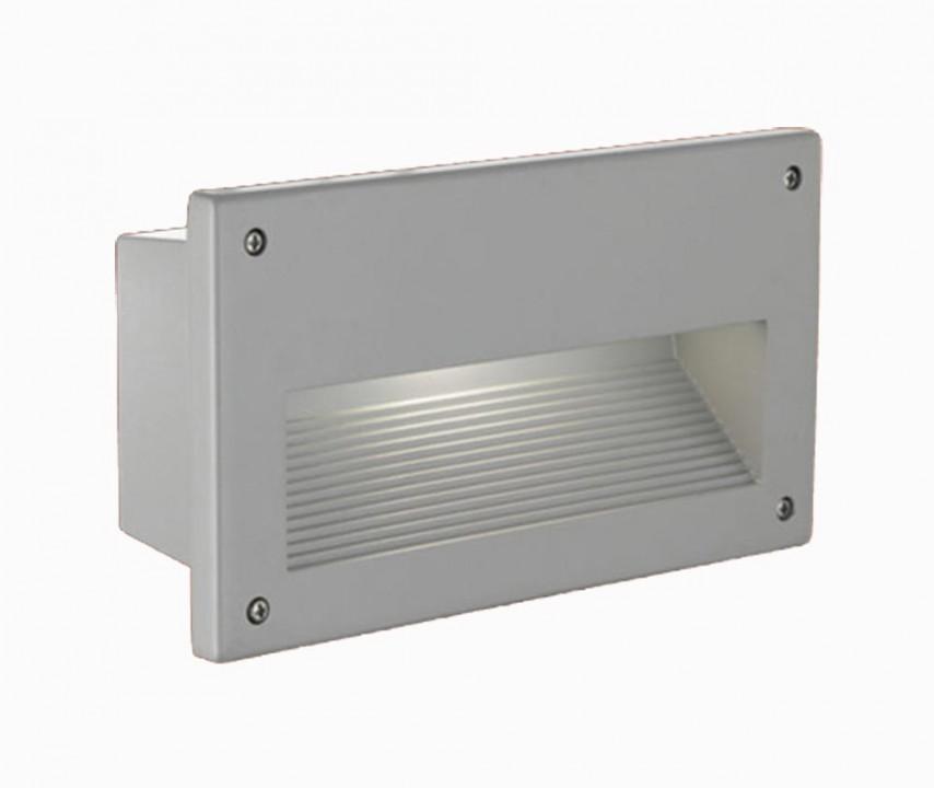 Eglo 88575 Встраиваемый светильник для ступенек ZIMBA  1x60W E27 серебристый