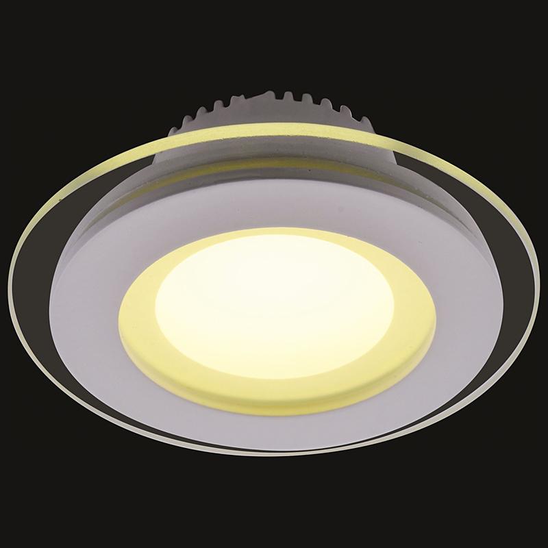 Arte Lamp A4106PL-1WH Встраиваемый светильник неповоротный RAGGIO 1x6W 480Lm 3000KW  белый