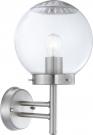 Globo 3180 Уличный настенно-потолочный светильник BOWLE II 1x60W E27 хром
