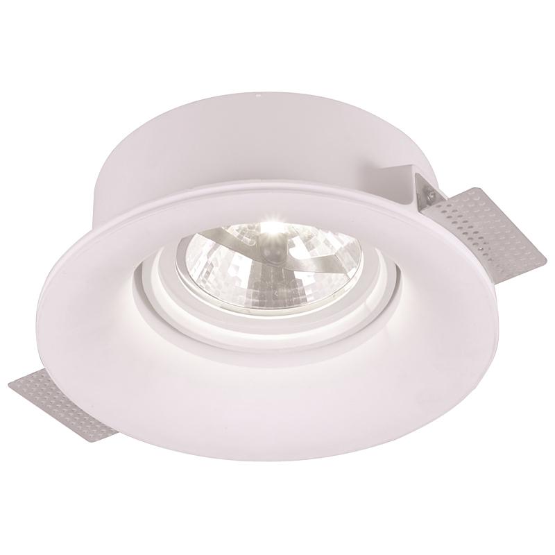 Arte Lamp A9271PL-1WH Встраиваемый светильник неповоротный INVISIBLE 1x50W G53 белый
