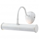 Arte Lamp A5023AP-1WG Светильник для картин  PICTURE LIGHTS 1x40W E14 бело-золотой