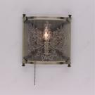 CITILUX CL408313 Настенный светильник ВЕРСАЛЬ 1x60W E14 бронза / прозрачный