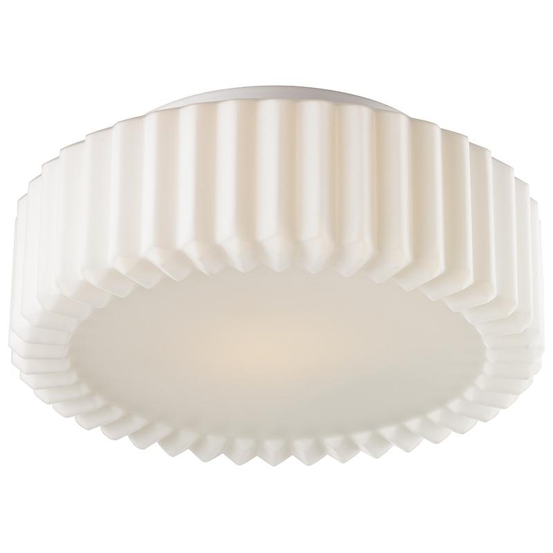 Arte Lamp A5027PL-1WH Настенно-потолочный светильник AQUA 1x75W E27 белый / белый