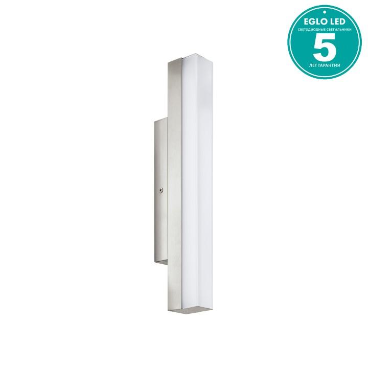 Eglo 94616 Светильник для зеркала TORRETTA 1x8W LED никель матовый/белый