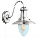 Arte Lamp A5518AP-1SS Бра  FISHERMAN 1x60W E27 матовое серебро