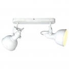 Arte Lamp A5213AP-2WG Подсветка  MARTIN 2x40W E14 бело-золотой