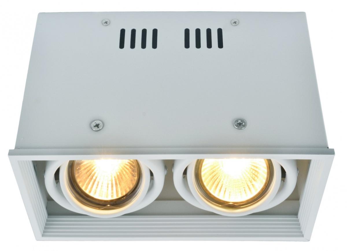 A5942PL-2WH Накладной светильник CARDANI 2x50W, 2xGU10 Arte Lamp