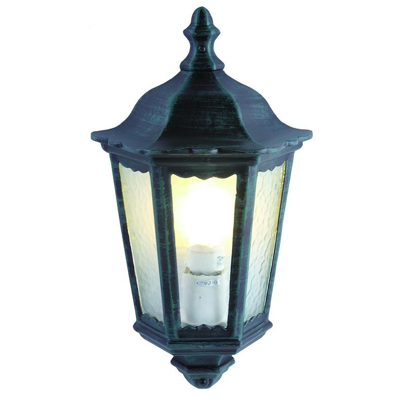Arte Lamp A1809AL-1BG уличный настенный светильник  PORTICO 1x60W E27 старая медь IP44