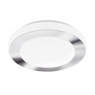 EGLO 95282 Светодиод. настенно-потол. светильник LED CARPI, 11W (LED), ?300, IP44, сталь, хром, белый/пластик, белый