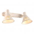 Arte Lamp A5218AP-2WG Подсветка CONO 2x40W E14 бело-золотой / бело-золотой