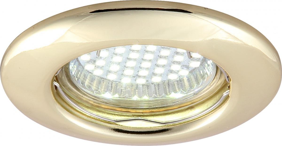 A1203PL-1GO Встраиваемый светильник PRAKTISCH 1x50W, 1xGU10 Arte Lamp