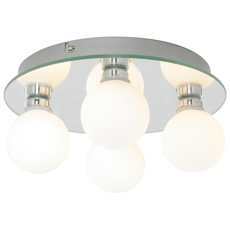 Arte Lamp A4444PL-4CC Настенно-потолочный светильник  AQUA 4x40W G9 хром IP44