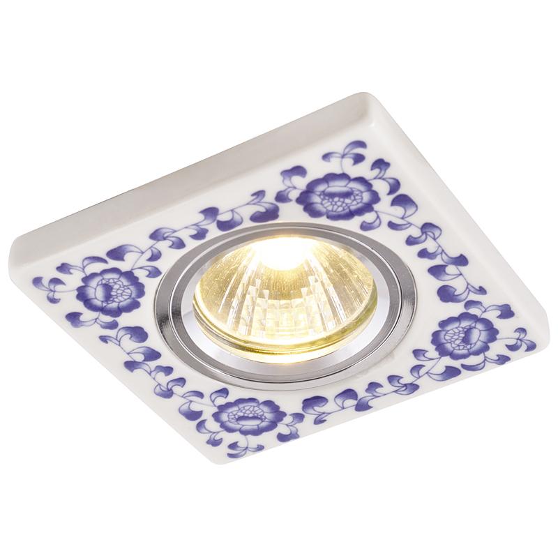 Arte Lamp A7034PL-1WH Встраиваемый светильник неповоротный RUSSO 1x50W GU10 / G5,3 белый