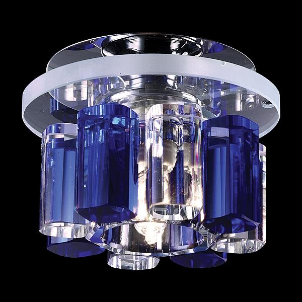 NOVOTECH 369350 Встраиваемый светильник неповоротный CARAMEL 1 1x40W G9 хром IP20