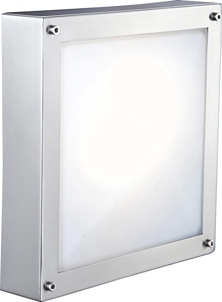 Globo 32211 Уличный настенно-потолочный светильник NOLIN 1x11W E27 хром