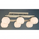 Citilux CL164362 Люстра потолочная  Ариста 6x75W E27 Белый / Белый