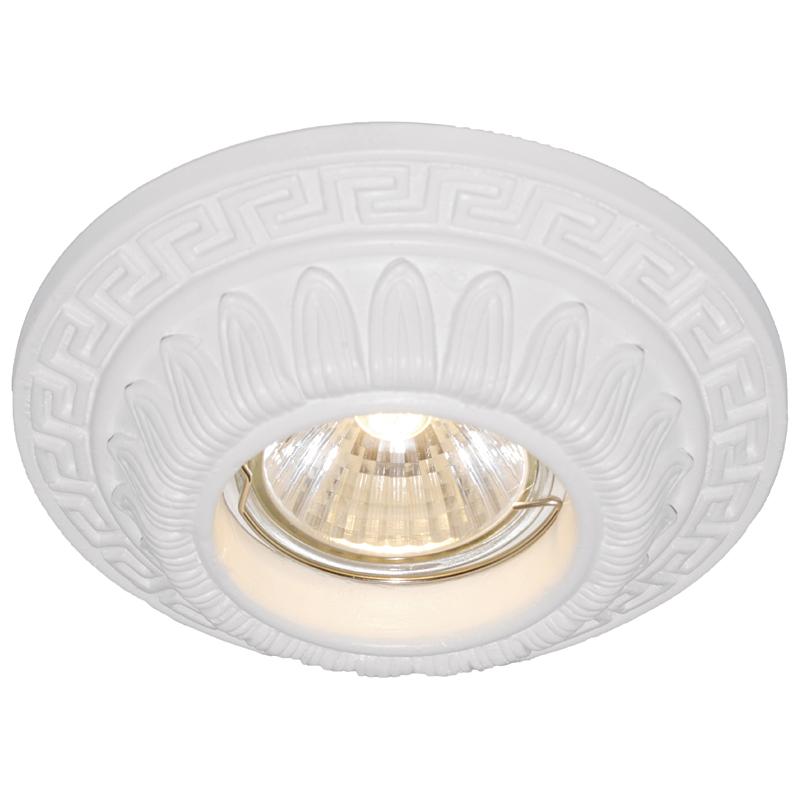 Arte Lamp A5073PL-1WH Встраиваемый светильник неповоротный CRATERE 1x50W GU10 / G5,3 белый