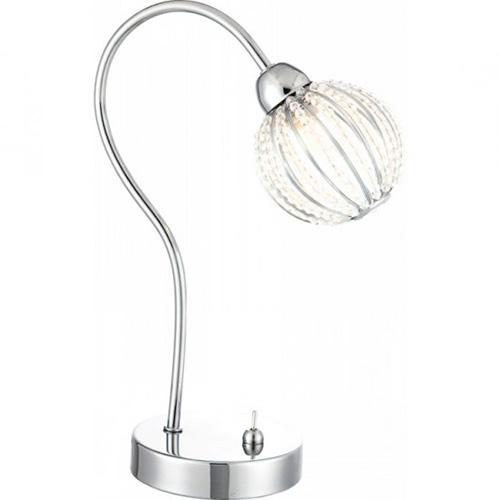 Globo 56102-1T Настольная лампа DEGRAY 1x33W G9 хром