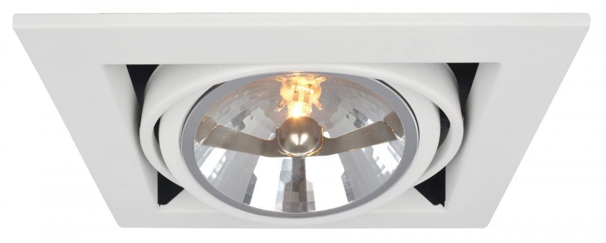 A5935PL-1WH Встраиваемый светильник CARDANI 1x50W, 1xG5,3 Arte Lamp